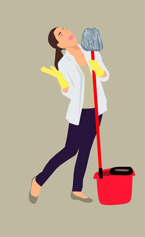 כיצד לנהל את הניקיון של משרד