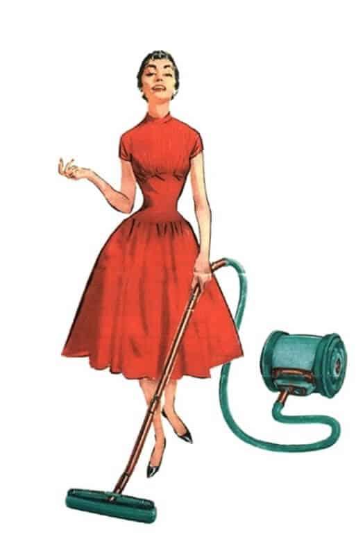 עוזרת לניקיון הבית